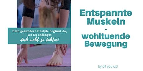 Entspannte Muskulatur mit ätherischen Ölen Tickets