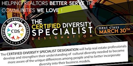The Certified Diversity Specialist (CDS) Designation tickets