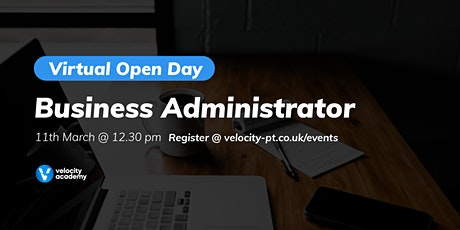 Virtual Open Day: Business Administrator tickets