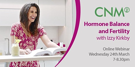 CNM Health Talk: Women's Health: Hormone Balance and Fertility, IE tickets