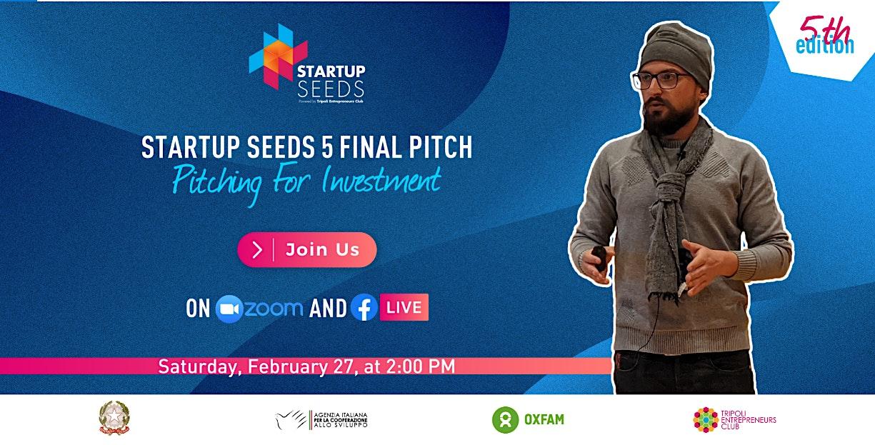 Startup Seeds 5 Final Pitch