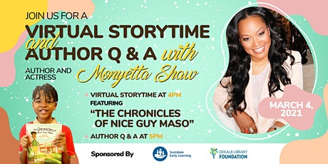 Virtual Storytime with Monyetta Shaw tickets
