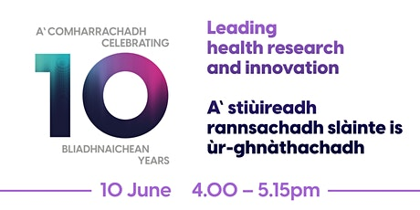 Leading - health research and  innovation tickets