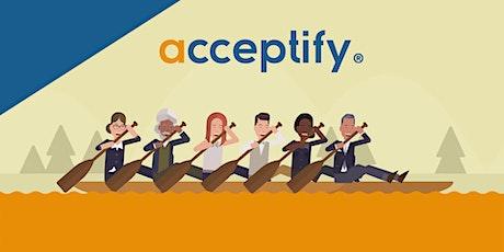 Online Gemeinsam Entscheiden: acceptify-Einführung Tickets