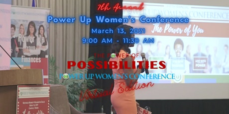 7th Annual Power Up Women's Conference for Women & Teens - Virtual Edition tickets