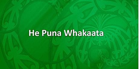 He Puna Whakaata Therapeutic Programme ki Rotorua 19 Nov 21 tickets