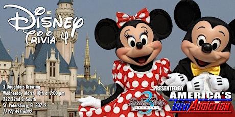 Disney Trivia-ONE TICKET PER TEAM tickets