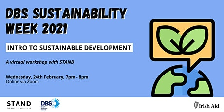 DBS SUSTAINABILITY WEEK: Intro to Sustainable Development tickets