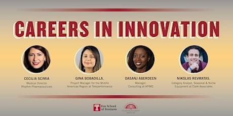Careers in Innovation: An Alumni Panel tickets