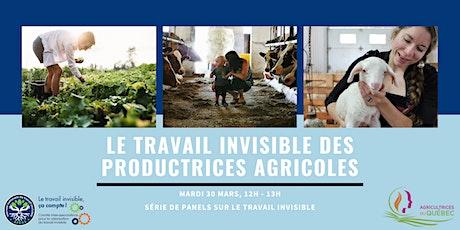 Le travail invisible des productrices agricoles billets