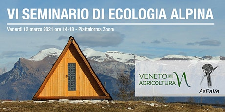 VI Seminario di Ecologia Alpina biglietti