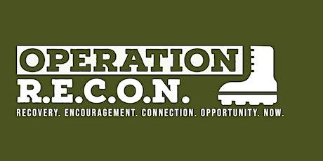 Operation R.E.C.O.N. tickets
