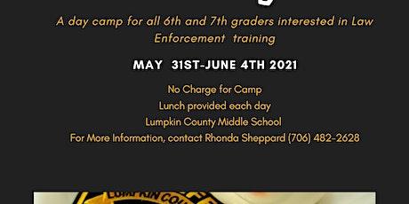 2021 Junior Law Enforcement Academy tickets