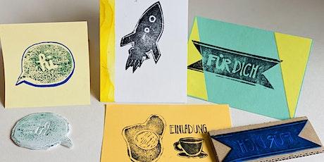 Online-Workshop I Postkarten und Mini-Poster gestalten   8- bis 14-Jahre Tickets