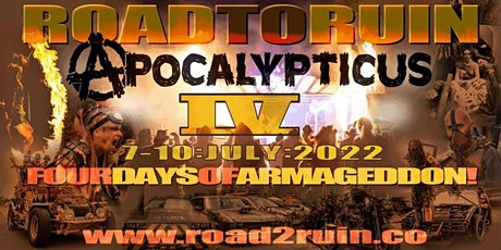 The Road to Ruin 2022 tickets