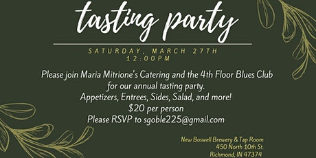 Tasting Party tickets