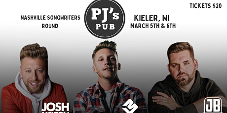 Nashville Songwritters Round 2 - PJ's Pub and Hall tickets
