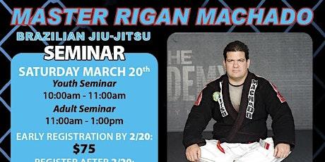 Seminar with Erik Paulson and Rigan Machado tickets