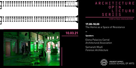 Architecture Open Lecture Series: The Home as a Space of Resistance tickets