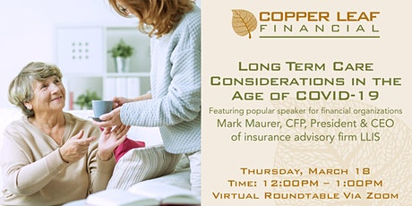 Long Term Care Considerations in the Age of COVID-19 tickets