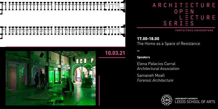 Architecture Open Lecture Series: The Home as a Space of Resistance image