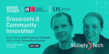 Society > Tech | Grassroots & Community Innovation tickets