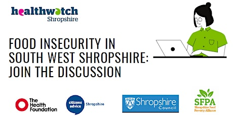 Solving food insecurity in South West Shropshire Tickets