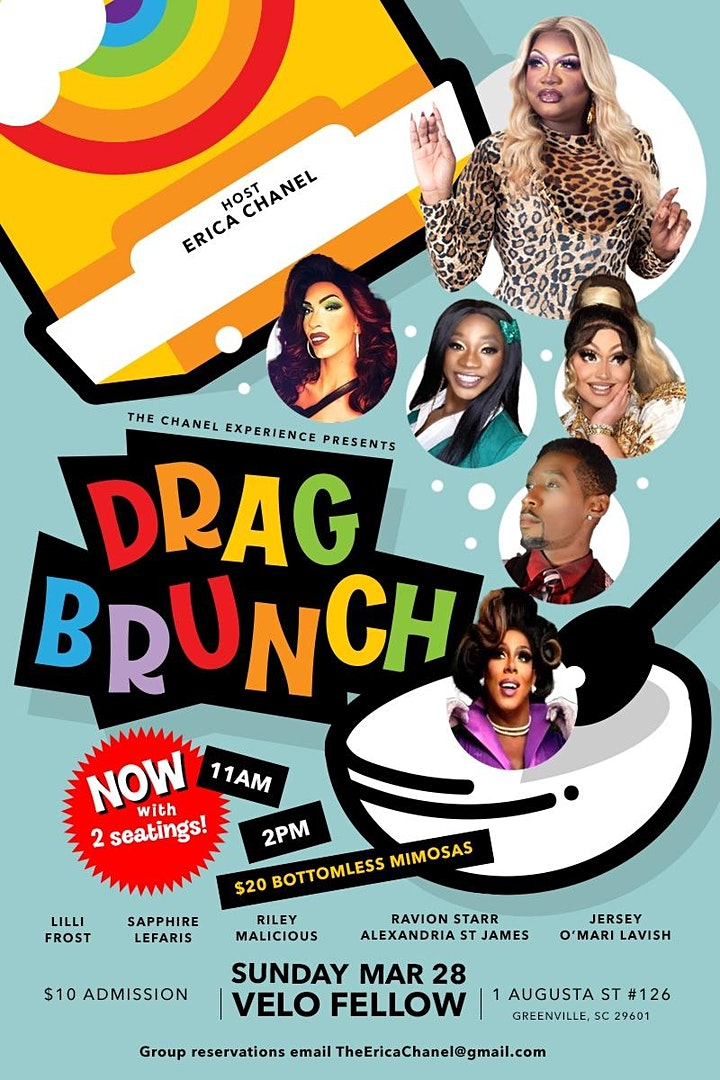 Chanel Experience Drag Brunch image