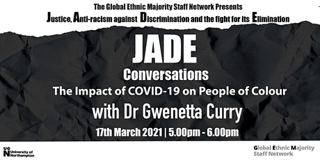 JADE Conversations with Dr. Gwenetta Curry tickets