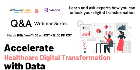 Saxon and Datadog Q&A - Accelerate Healthcare Digital Transformation tickets