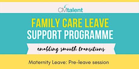 Family Care Leave Webinar: Pre-Leave tickets
