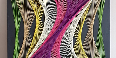 Welcome to the wonderful world of String Art, with Prosecco tickets