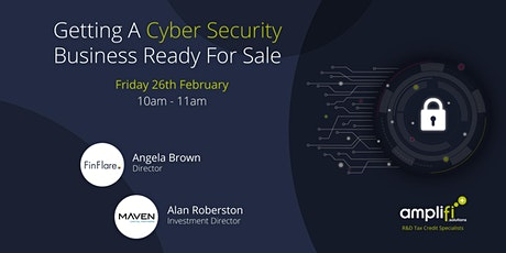 Getting A Cyber Security Business Ready For Sale tickets