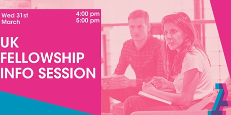 UK Fellowship Info Session tickets