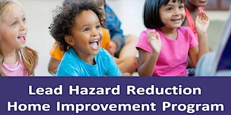Lead Hazard Home Improvement Grant tickets