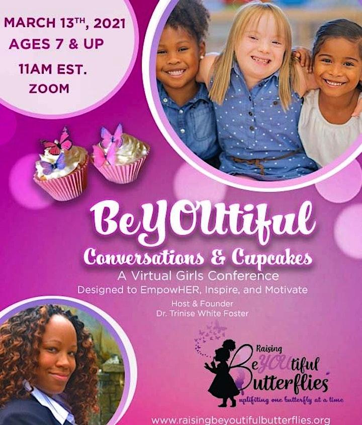 BeYOUtiful Conversations & Cupcakes, A Virtual Girls Conference image