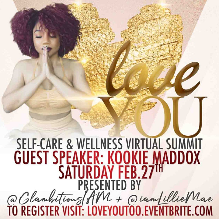 Glambitious Virtual Self-Care Summit!  Keynote Speaker: Chrisette Michele image