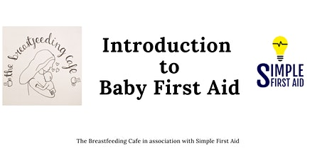 Baby First Aid Course tickets