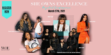 She Owns Excellence Virtual Experience tickets