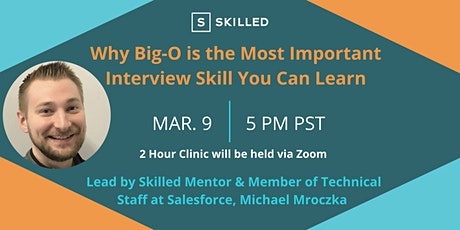 Why Big-O is the Most Important Interview Skill You Can Learn tickets