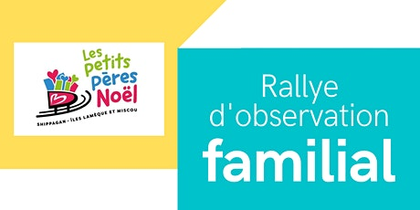 Rallye d'observation familial tickets