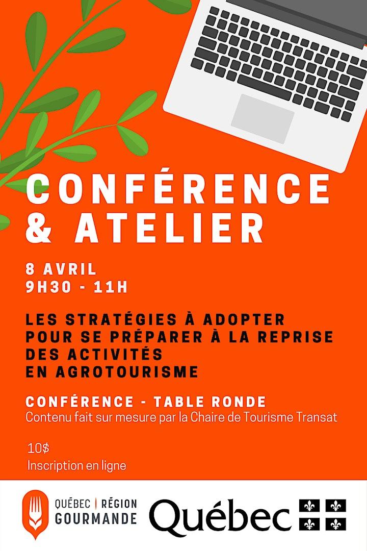 Image de Conférence & atelier: stratégies  à adopter en agrotourisme