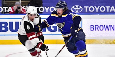 LIVE@!!..@ St. Louis Blues v Arizona Coyotes LIVE ON NHL 2021 tickets
