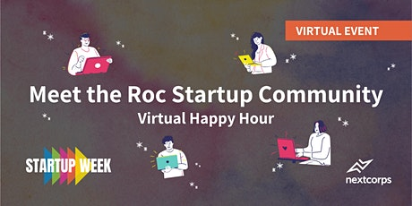Virtual Happy Hour: Meet the Rochester Startup Community tickets