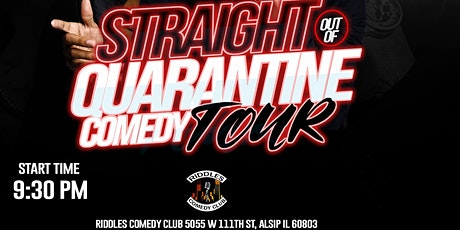 Straight Outta  Quarantine Comedy Tour tickets