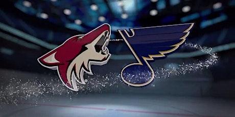 StrEams@!.MaTch St. Louis Blues v Arizona Coyotes LIVE ON NHL 2021 tickets