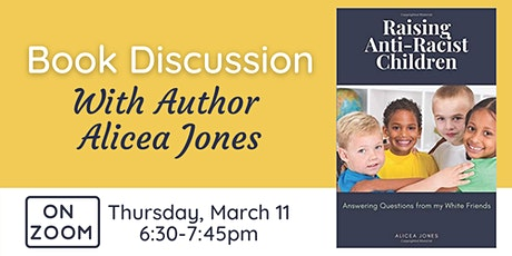 Online: Book Discussion - Raising Anti-Racist Children tickets