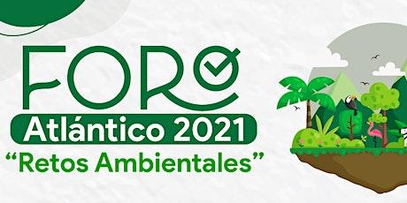 """FORO """"Retos Ambientales"""" entradas"""