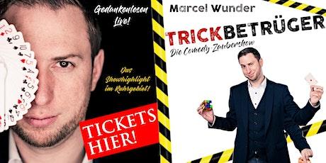 "Marcel Wunder - ""Wunder Hautnah"" & ""Trickbetrüger"" - die Comedy-Zaubershow Tickets"