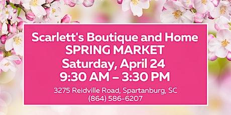 Spring Market at Scarlett's tickets